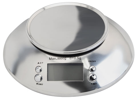 Measure Master 5000g Large Capacity Digital Scale with 1.6 L Bowl