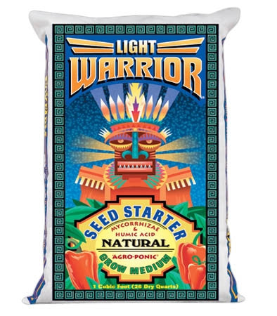Light Warrior Seed Starter Grow Medium 1CF