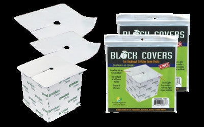 Block Covers 4 in 40/Pack