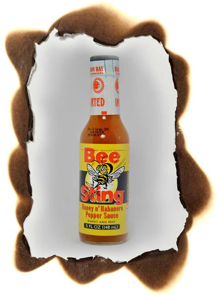 Bee Sting Honey N' Habañero Pepper Sauce Sweet & Hot