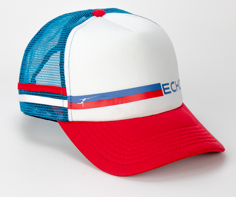 ECHO Red White and Blue Foam Trucker Party Hat