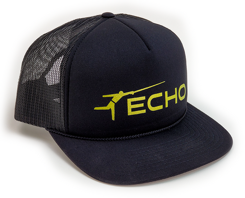 ECHO Black Foam Trucker Hat