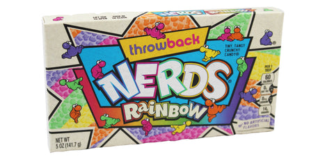 Rainbow Nerds - Tiny Tangy Crunchy Candy