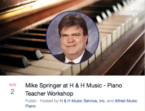 Piano Teacher Workshop - Alfred Publishing