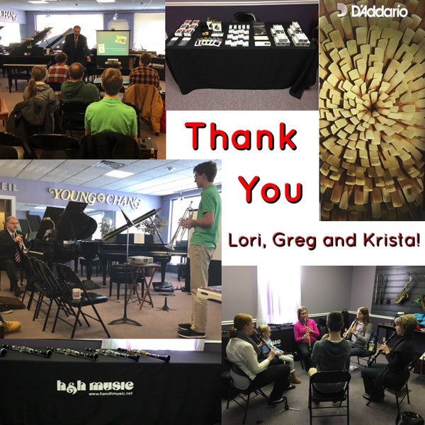 Clarinet & Trumpet Day - THANK YOU!