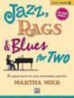 Jazz, Rags & Blues for Two, Book 1 - Mier - H & H Music