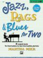 Jazz, Rags & Blues for Two, Book 3 - Mier - H & H Music