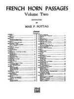 French Horn Passages - Volume Two - Extracted by Pottag - H & H Music