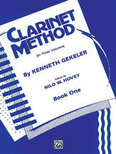 Clarinet Method - Book One - Gekeler - Edited by Hovey - H & H Music