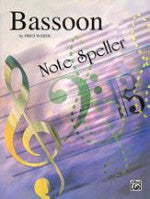 Bassoon Note Speller - Weber - H & H Music