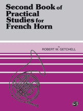 Second Book of Practical Studies for French Horn - Getchell - H & H Music