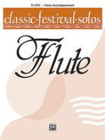 Belwin - Classic Festival Solos - Piano Accompaniment - Volume I