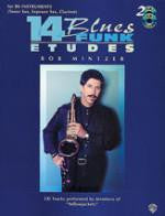 14 Blues & Funk Etudes - Tenor Sax/Soprano Sax/Clarinet - With 2 CDs - Mintzer - H & H Music