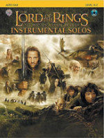 The Lord of the Rings - The Motion Picture Trilogy - Instrumental Solos - Level 2-3 - With CD