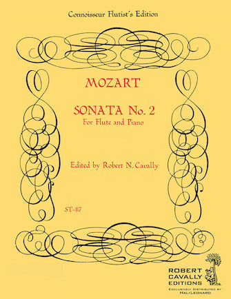 Sonata No. 2 for Flute and Piano, K. 379 - Mozart/Cavally