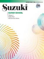 Suzuki Guitar School - Volumes 1-4 - Book and CD