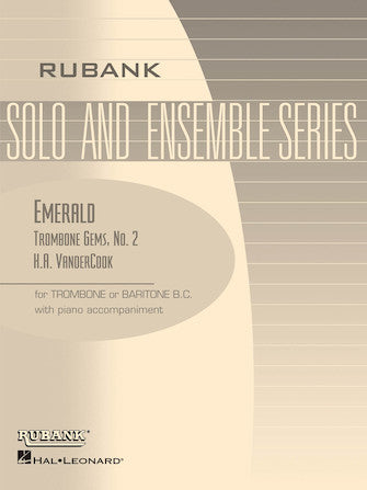 Trombone Gems No. 2 - Emerald - VanderCook