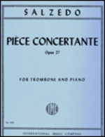 Piece Concertante Opus 27 for Trombone and Piano - Salzedo