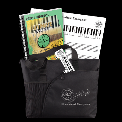 Ultimate Music Theory - Prep 1 Student Pack