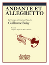 Andante Et Allegretto - Balay