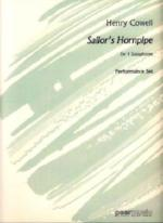 Sailor's Hornpipe for Saxophone Quartet - Cowell