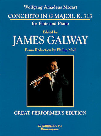 Concerto in G Major, K. 313 for Flute and Piano - Mozart/Edited by Galaway