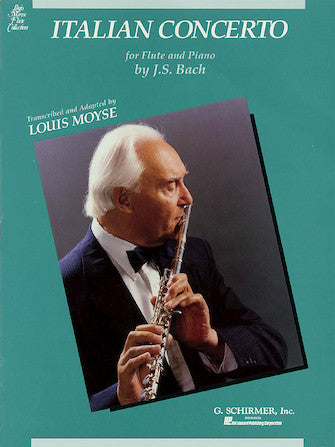 Italian Concerto for Flute and Piano - Bach/Moyse