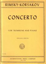Concerto for Trombone and Piano - Rimsky-Korsakov/Gibson - H & H Music