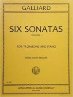 Six Sonatas for Trombone and Piano - Volume I - Galliard/Brown