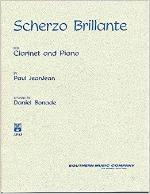Scherzo Brillante for Clarinet and Piano - JeanJean/Rev. Bonade
