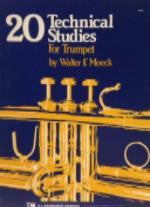 20 Technical Studies for Trumpet - Moeck