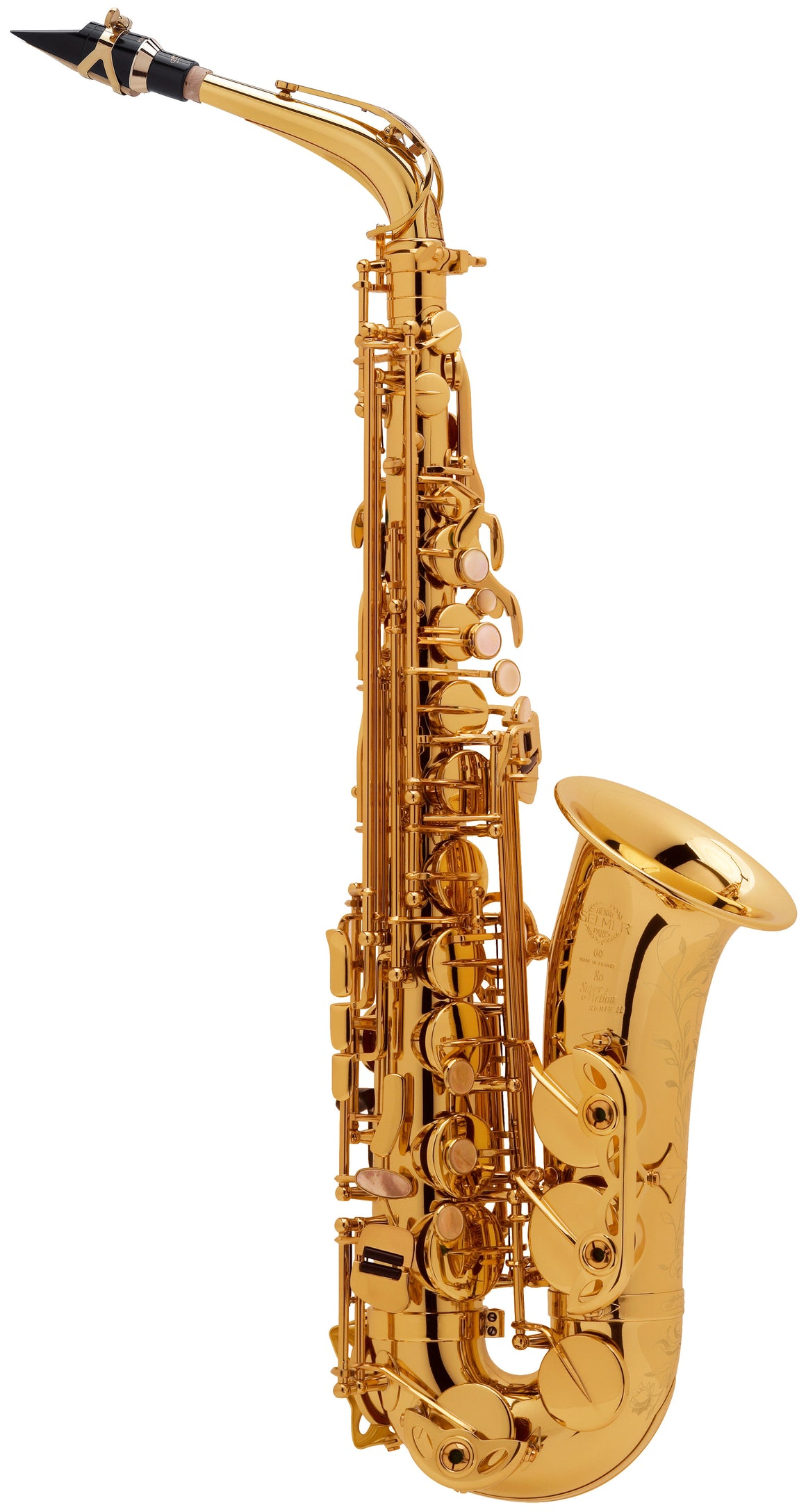 Selmer Paris Alto Saxophone - 52JGP - Gold Plated - H & H Music