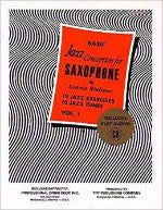 Basic Jazz Conception for Saxophone - 12 Jazz Exercises - 10 Jazz Tunes - Vol. 1 - Includes Play-Along CD - Niehaus - H & H Music