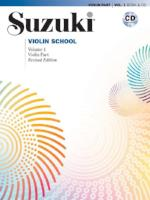 Suzuki Violin School - Volumes 1-8 - Book and CD