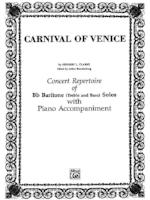 Carnival of Venice - Clarke/Edited by Brandenburg