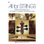 All for Strings - Theory Workbook 2 - Anderson/Frost
