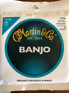 Banjo Strings - Martin - V720