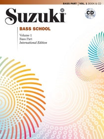 Suzuki Bass School - Volumes 1-4 - Book and CD