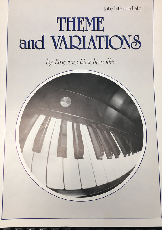 Theme and Variations - Rocherolle