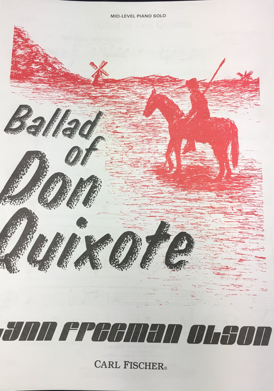 Ballad of Don Quixote - Olson - H & H Music