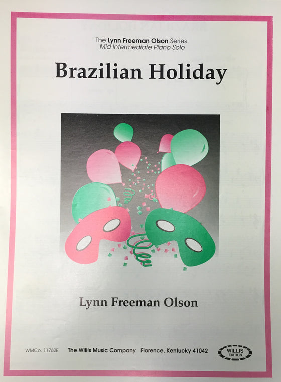 Brazilian Holiday - Olson - H & H Music