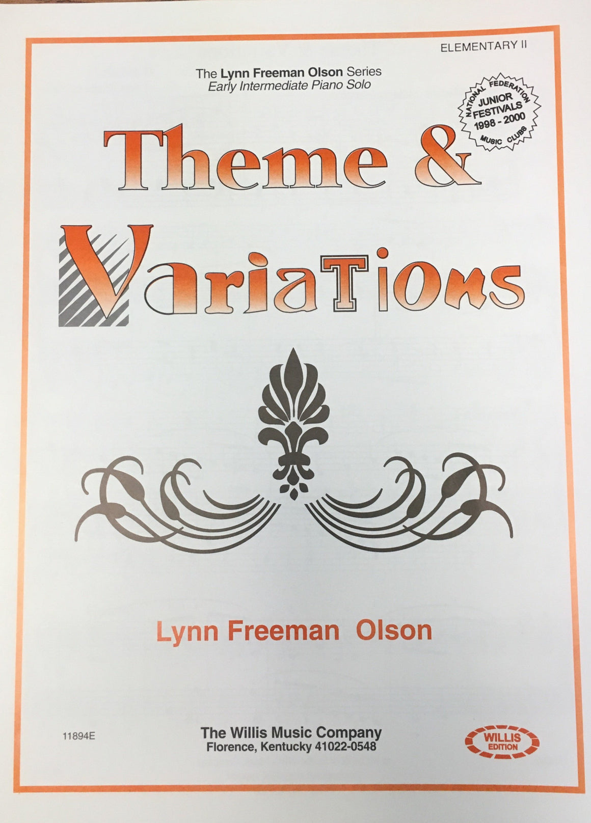 Theme & Variations - Olson