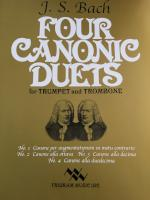 Four Canonic Duets for Trumpet and Trombone - J. S. Bach
