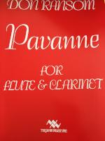 Pavanne for Flute & Clarinet - Ransom