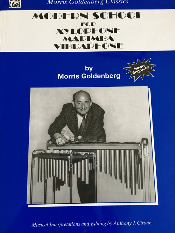 Modern School for Xylophone, Marimba and Vibraphone - Goldenberg