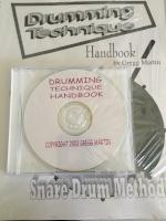 Drumming Technique Handbook - Snare Drum Method - With CD - Martin - H & H Music
