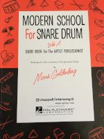 Modern School for Snare Drum - Goldenberg