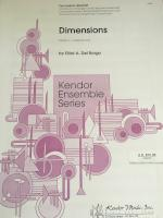 Dimensions - Grade 3 - Percussion Quartet - Del Borgo - H & H Music