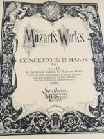Concerto in D Major for Flute - K. 314 - Mozart - H & H Music