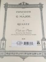 Concerto in G Major for Flute and Piano - Quantz/Revised by Wummer - H & H Music